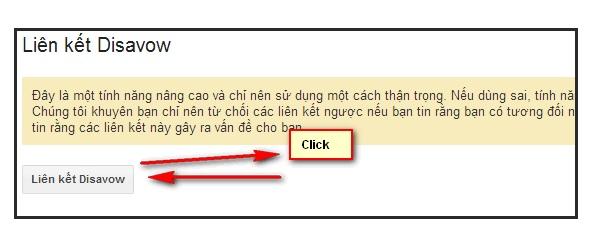 """Bước 5: Hoàn thành Disavow Link Click """"Chọn Tệp"""" rồi tải lên file .txt vừa tạo. Sau khi đã tải lên thì bấm nút """"Gửi"""" và kết thúc quy trình bằng nút """"Hoàn thành""""."""
