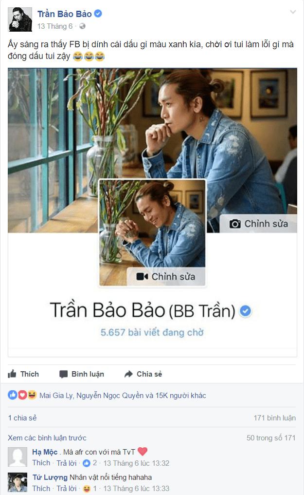 Tất tần tật về dấu tích xanh Facebook- GHDmedia