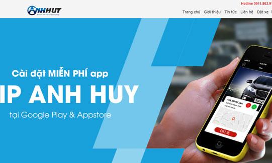 Dự án website vận tải Vip Anh Huy