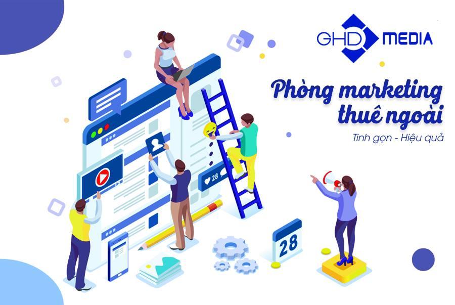Phòng Marketing Thuê Ngoài GHDMedia Bùng Nổ Doanh Số