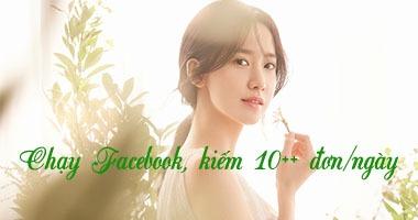 Chạy quảng cáo mỹ phẩm trên facebook, kiếm 10++ đơn mỗi ngày