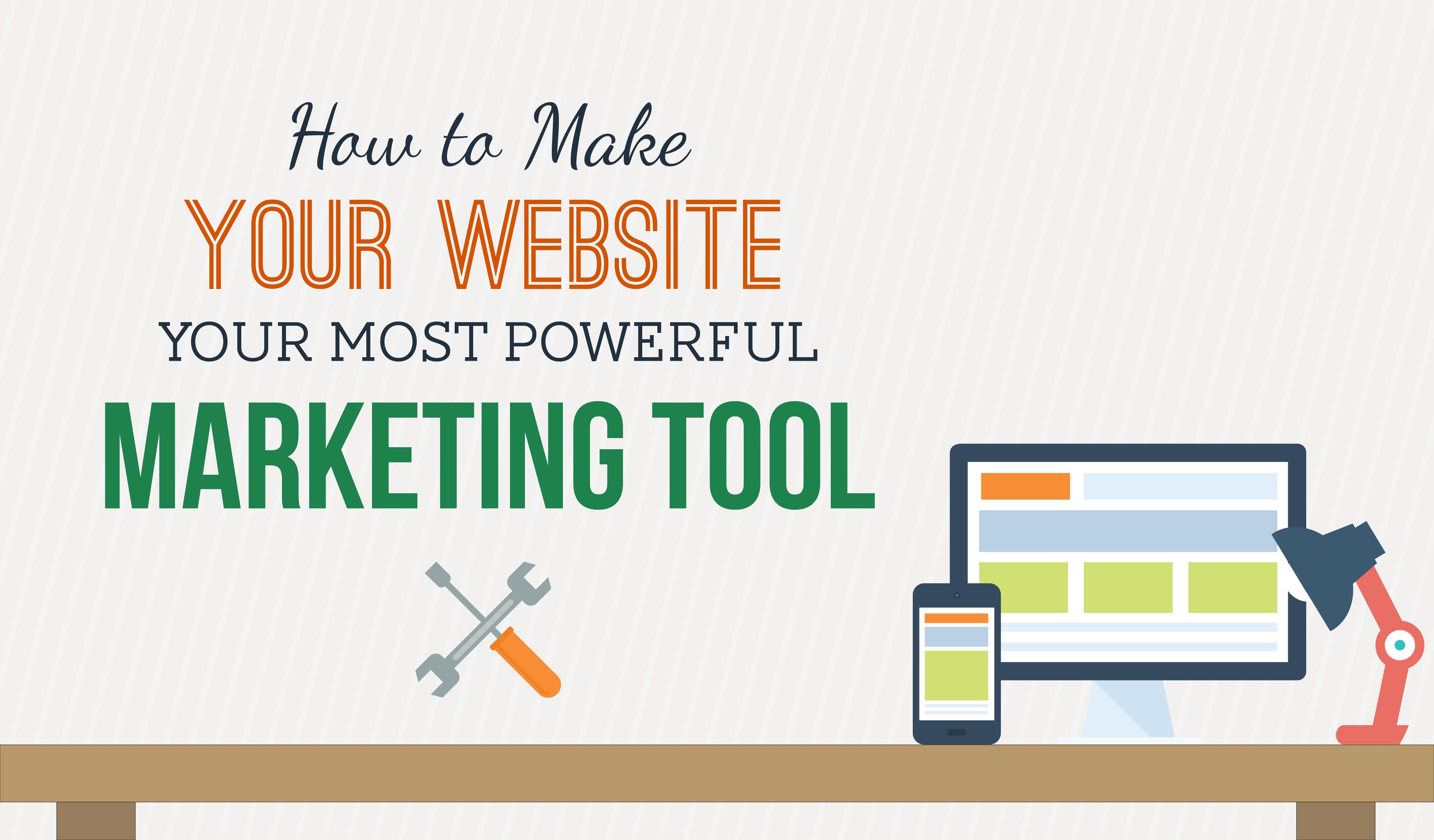 Website marketing - Lợi nhuận khổng lồ chưa được khai thác