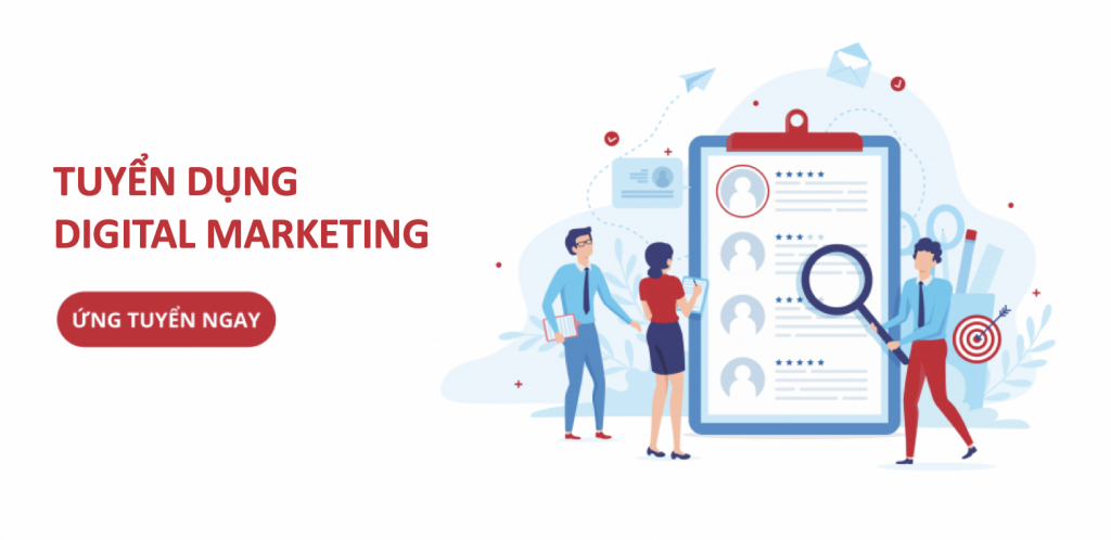 Tuyển dụng vị  trí Marketing( HOT)
